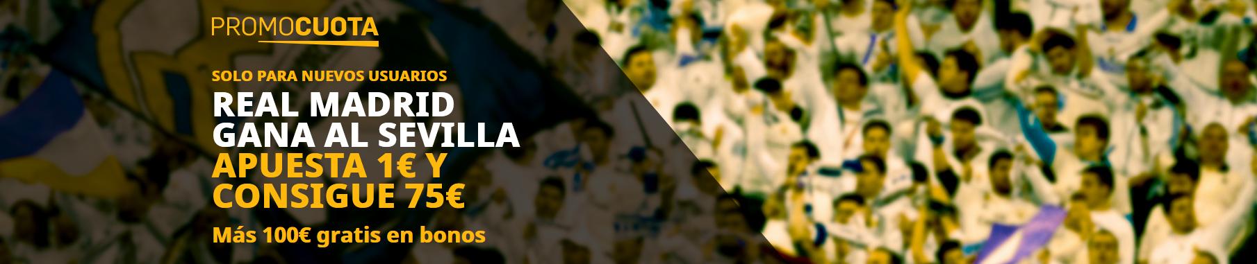Promocuota Real Madrid vence Sevilla