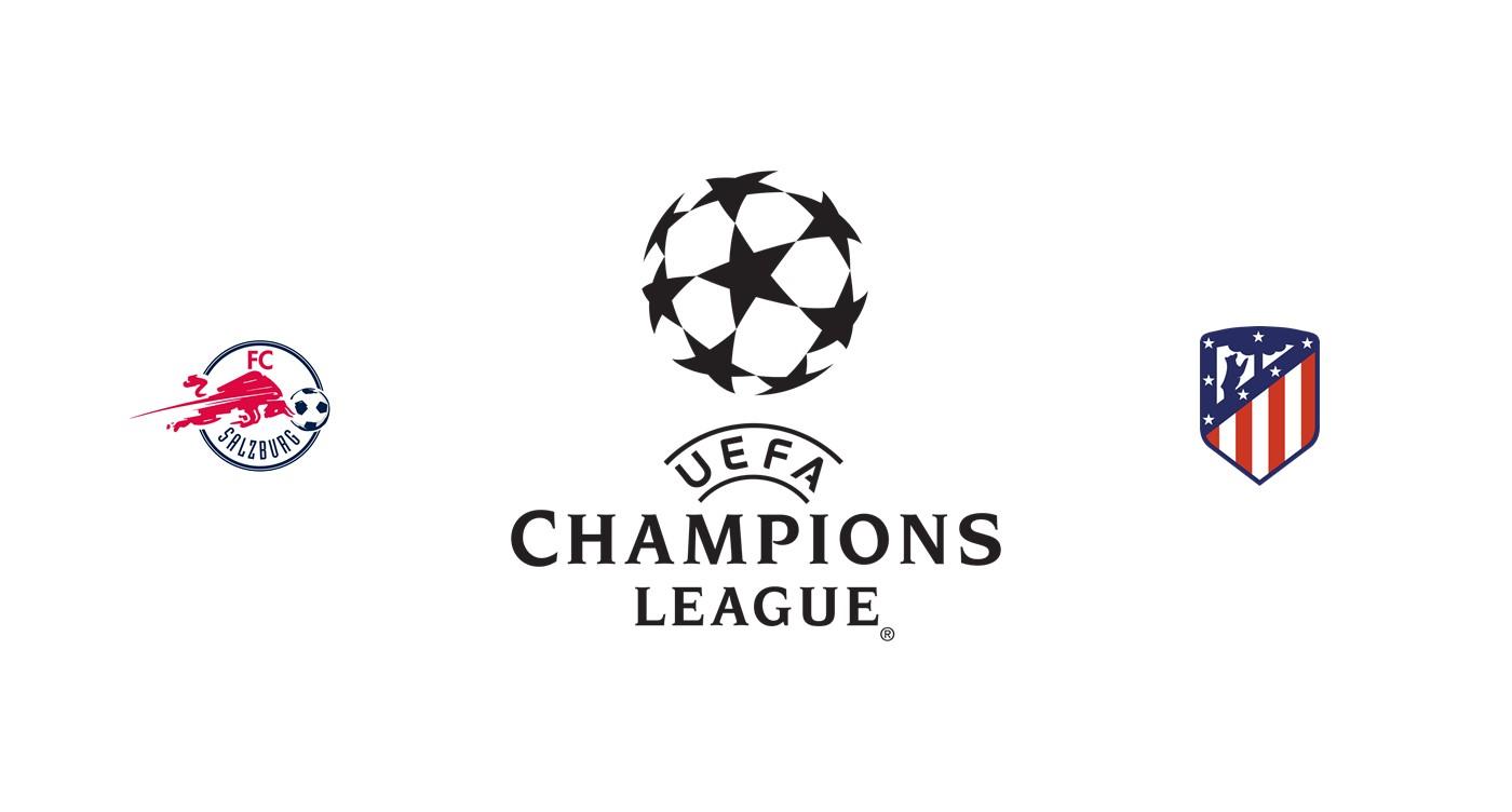 RB Salzburgo vs Atlético Madrid