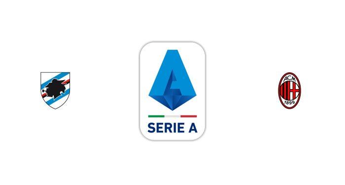 Sampdoria vs Milán Previa, Predicciones y Pronóstico