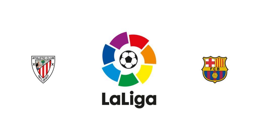 Athletic Club vs Barcelona Previa, Predicciones y Pronóstico