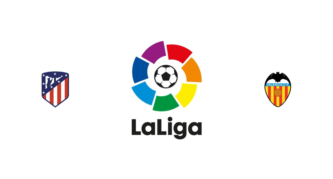 Atlético Madrid vs Valencia