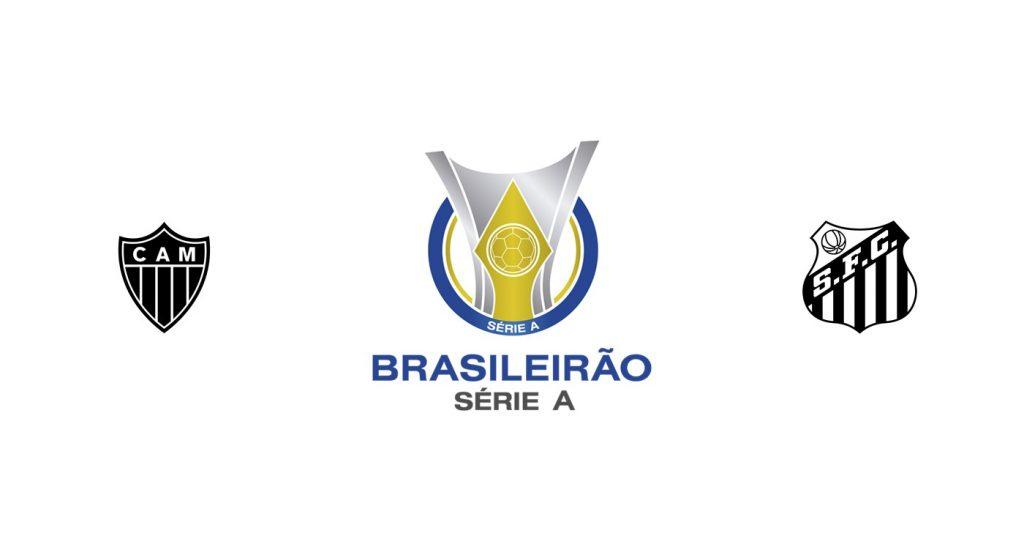 Atlético Mineiro vs Santos Previa, Predicciones y Pronóstico