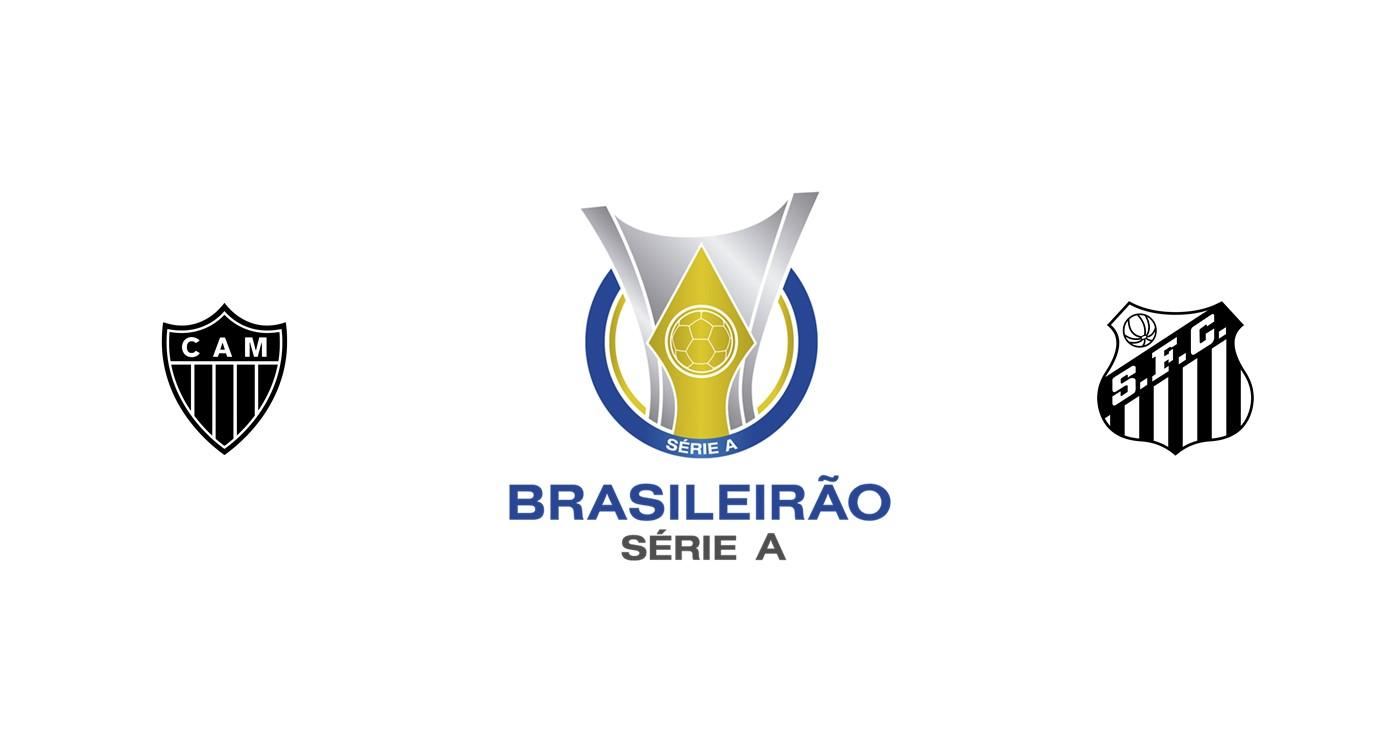Atlético Mineiro vs Santos