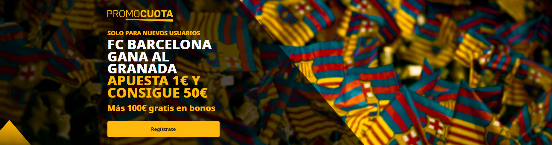 Promocuota Barcelona vence a Granada
