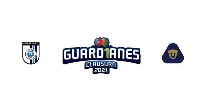 Querétaro vs Pumas UNAM Previa, Predicciones y Pronóstico