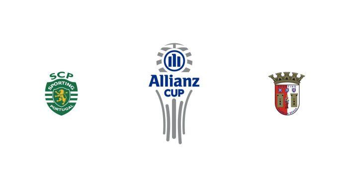 Sporting CP vs Sporting Braga Previa, Predicciones y Pronóstico