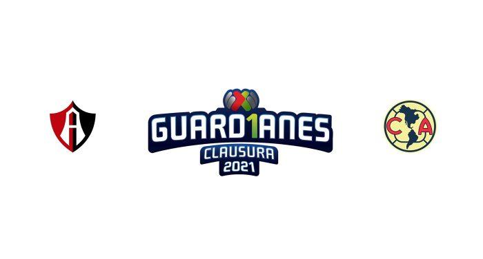 Atlas vs Club América Previa, Predicciones y Pronóstico 21/02/2021