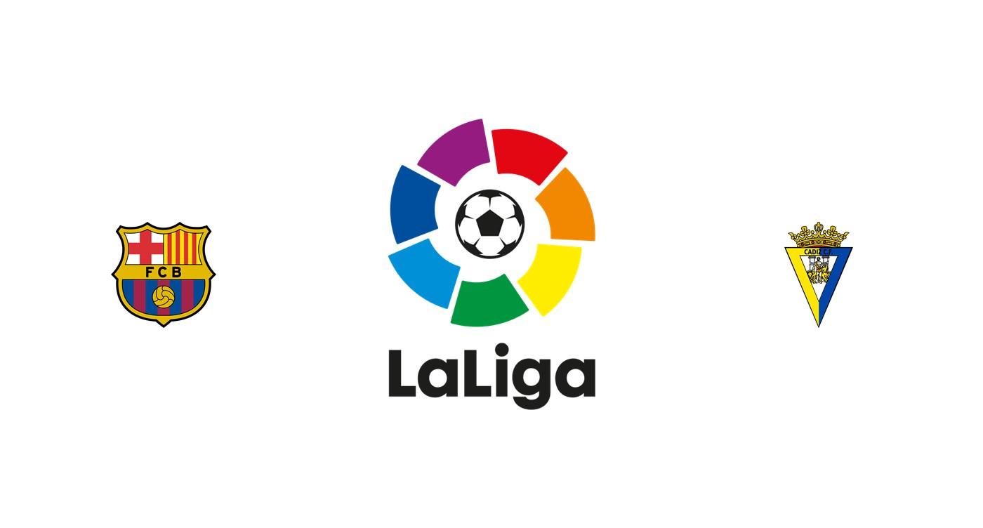 Barcelona vs Cádiz