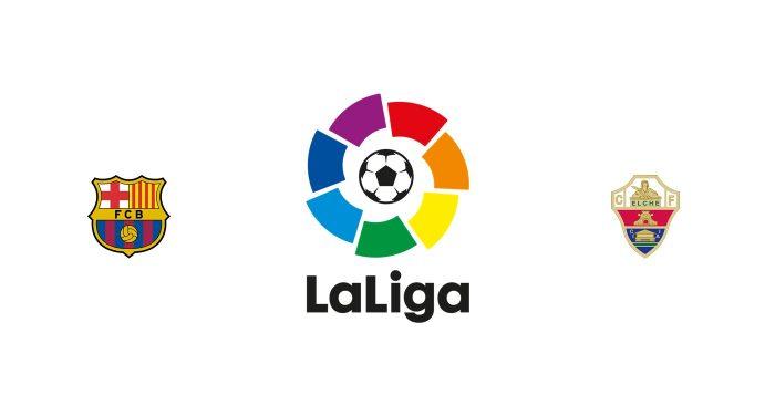 Barcelona vs Elche Previa, Predicciones y Pronóstico