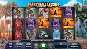 Basketball Legends Dragon Gaming