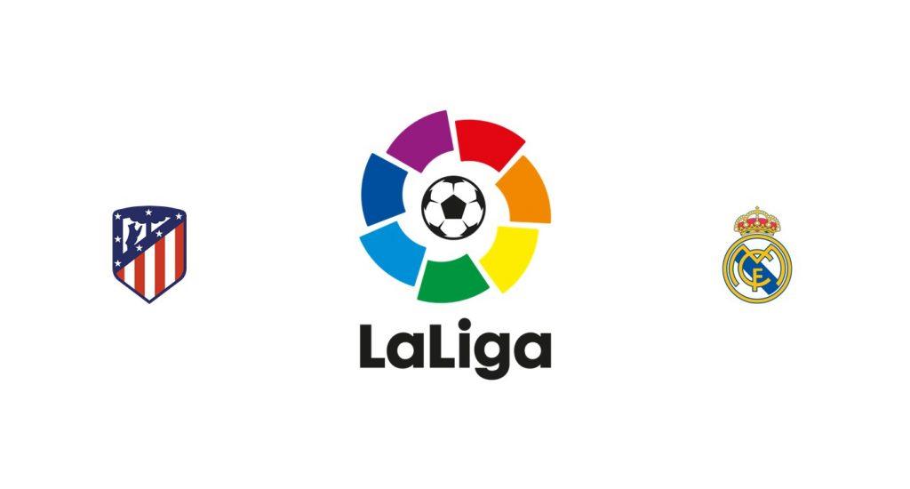 Atlético Madrid vs Real Madrid Previa, Predicciones y Pronóstico