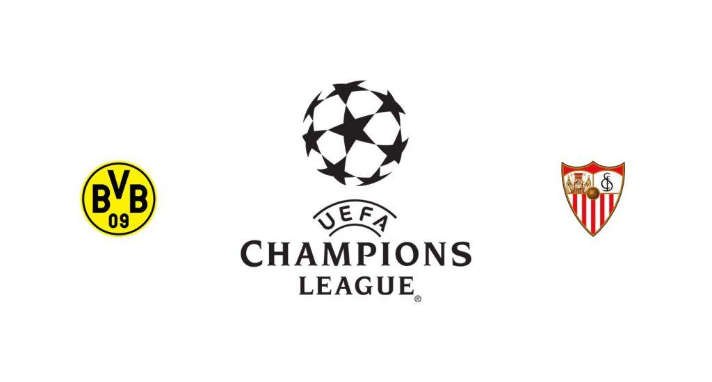 Borussia Dortmund vs Sevilla Previa, Predicciones y Pronóstico