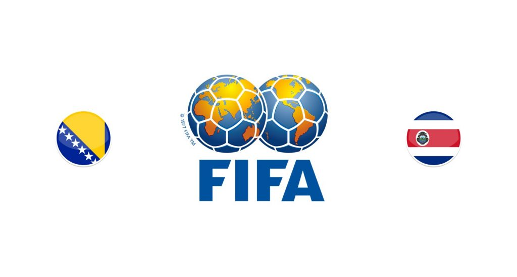 Bosnia vs Costa Rica Previa, Predicciones y Pronóstico