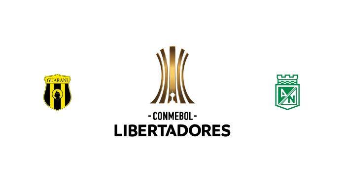 Guaraní vs Atlético Nacional Previa, Predicciones y Pronóstico