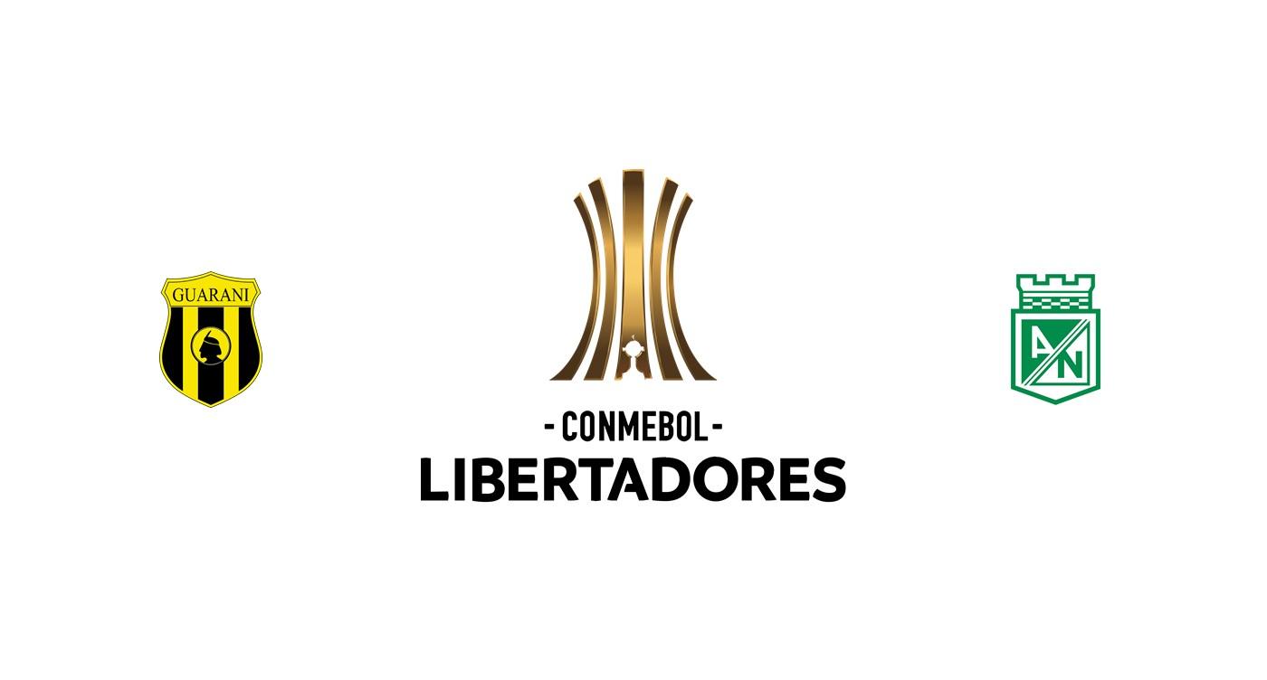 Guaraní vs Atlético Nacional