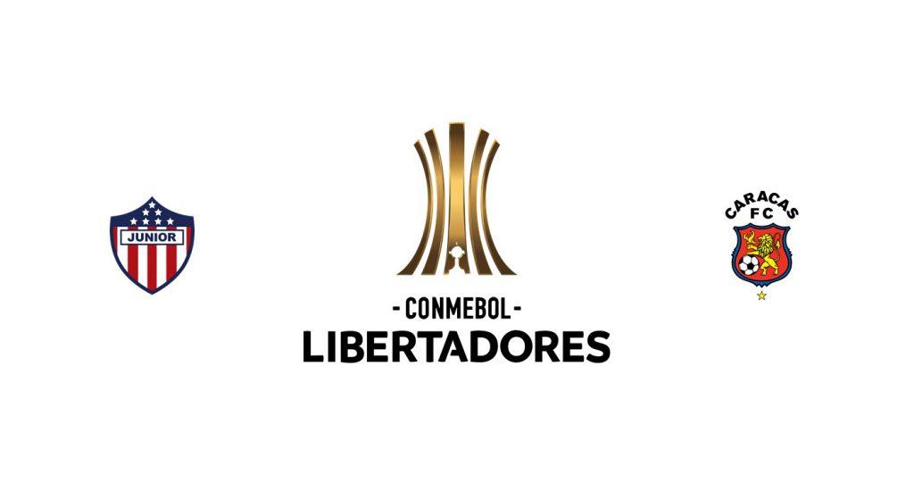 Junior vs Caracas FC Previa, Predicciones y Pronóstico
