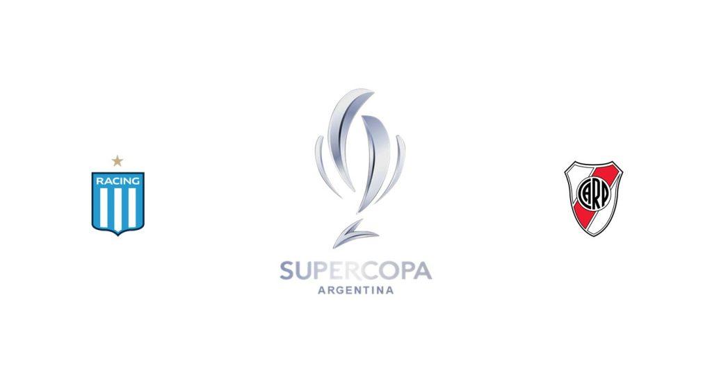 Racing Club vs River Plate Previa, Predicciones y Pronóstico