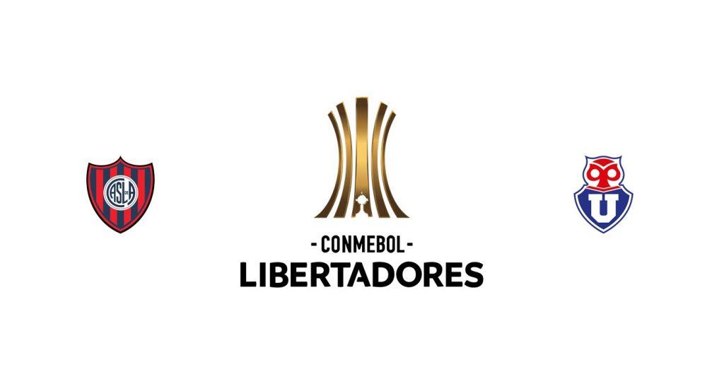San Lorenzo vs U de Chile Previa, Predicciones y Pronóstico