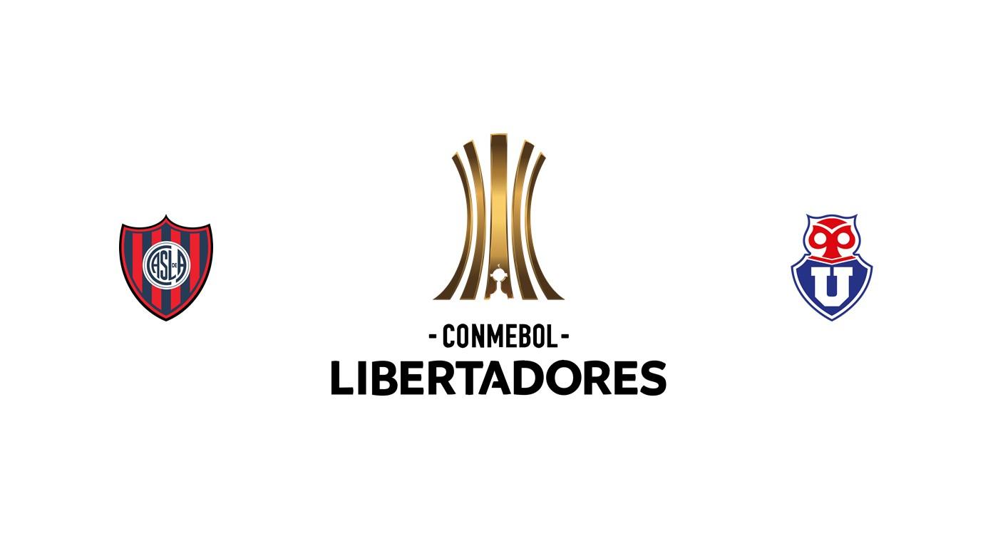 San Lorenzo vs U de Chile