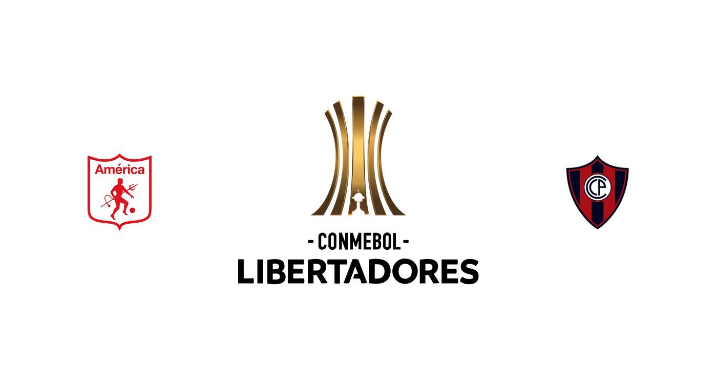 América de Cali vs Cerro Porteño