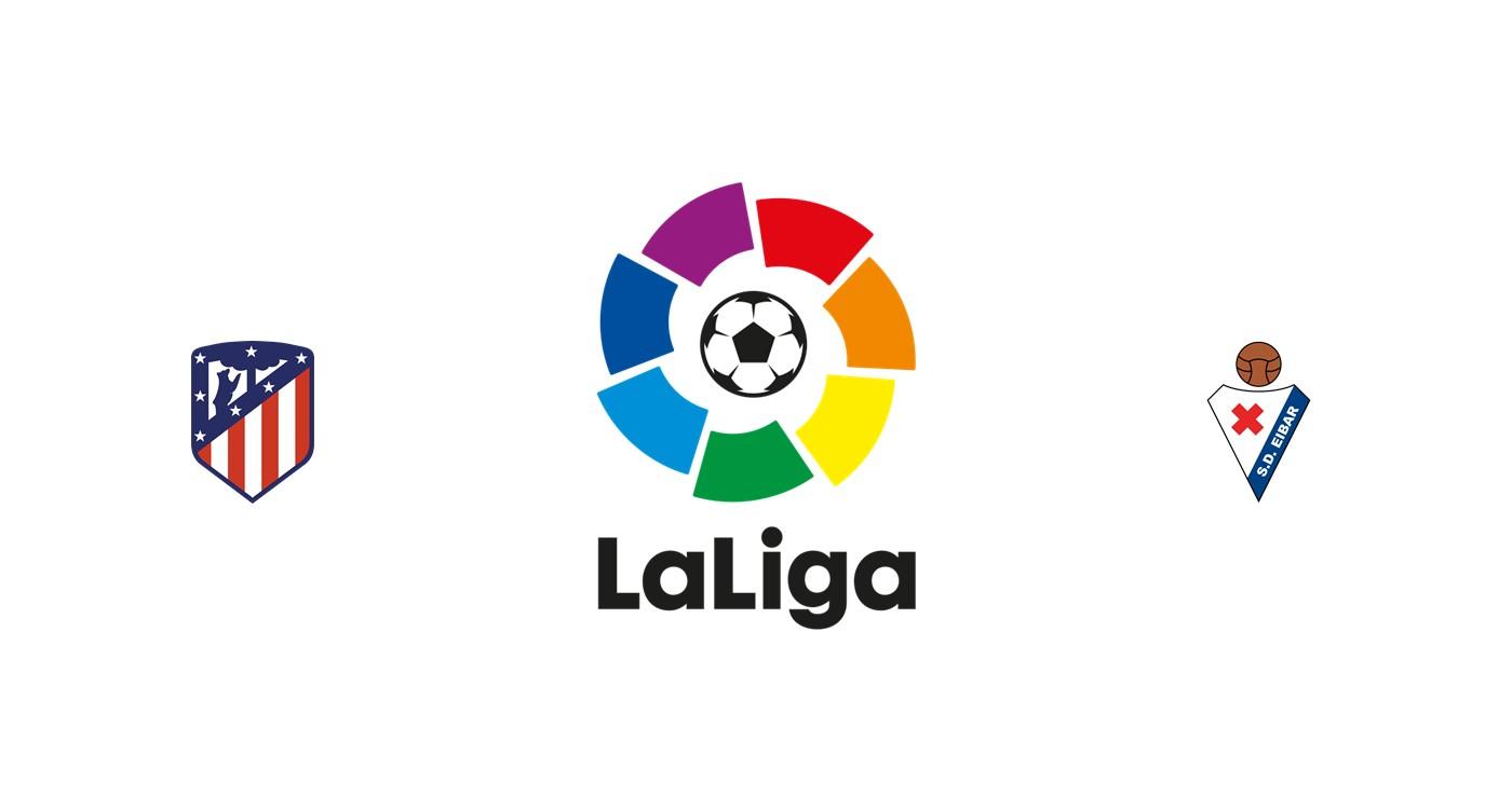 Atlético Madrid vs Eibar