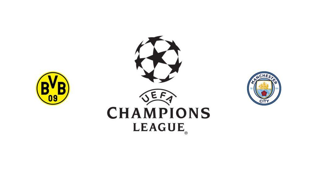 Borussia Dortmund vs Manchester City Previa, Predicciones y Pronóstico