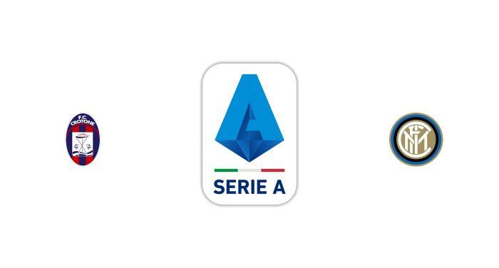Crotone vs Inter Milan Previa, Predicciones y Pronóstico