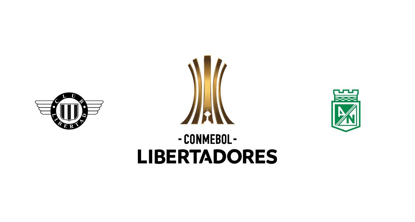 Libertad vs Atlético Nacional