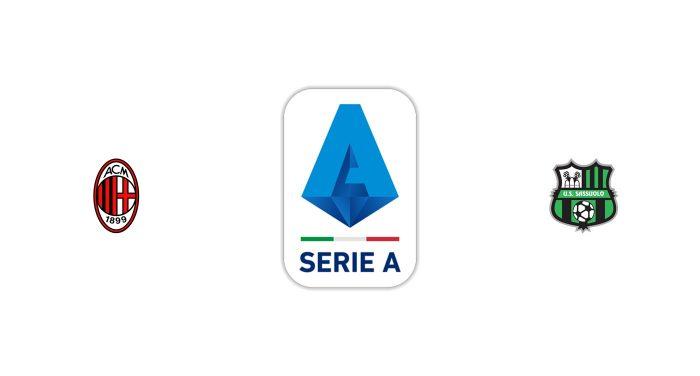 Milan vs Sassuolo Previa, Predicciones y Pronóstico