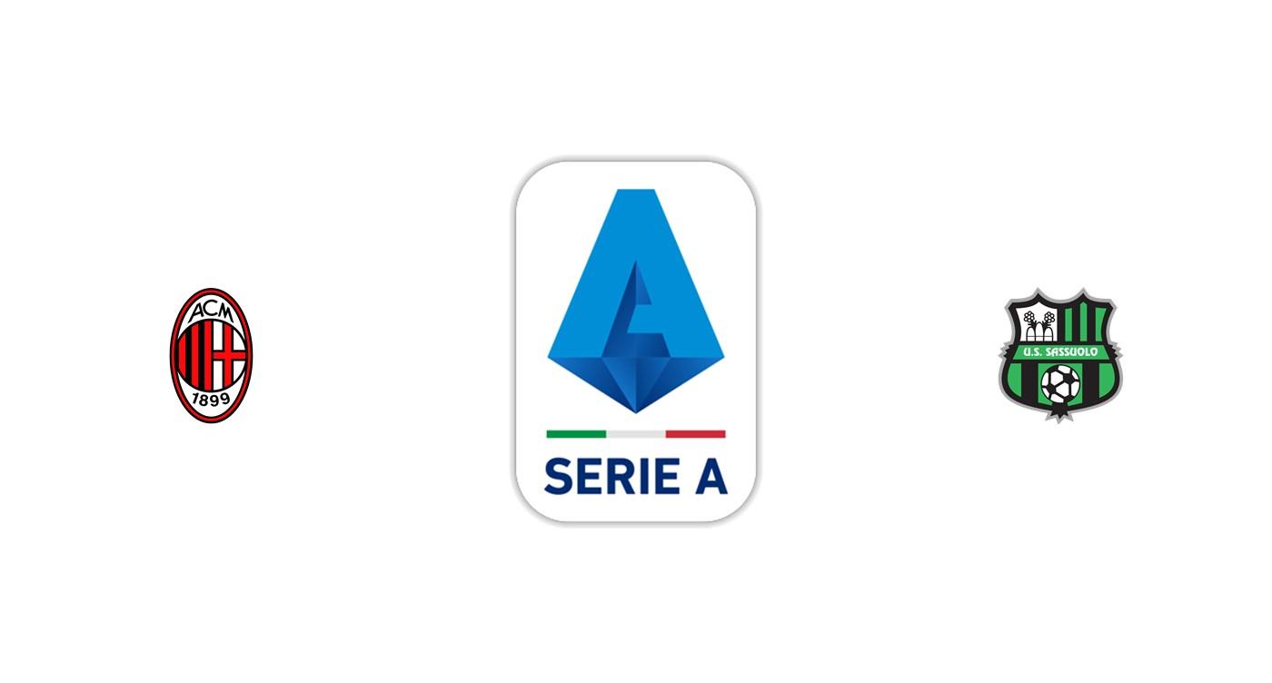 Milan vs Sassuolo