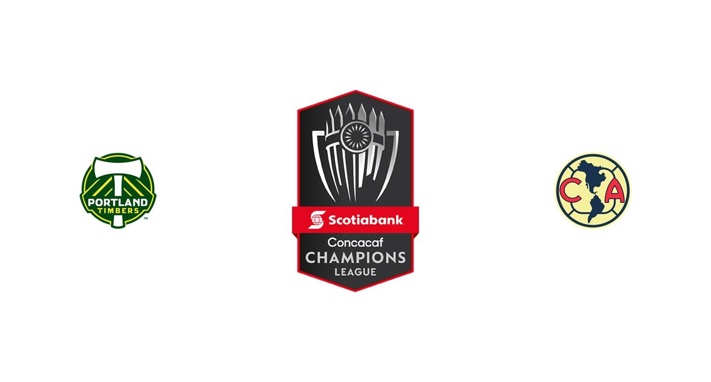 Portland Timbers vs Club América