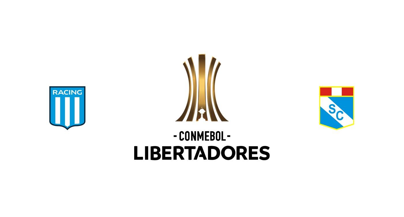 Racing Club vs Sporting Cristal