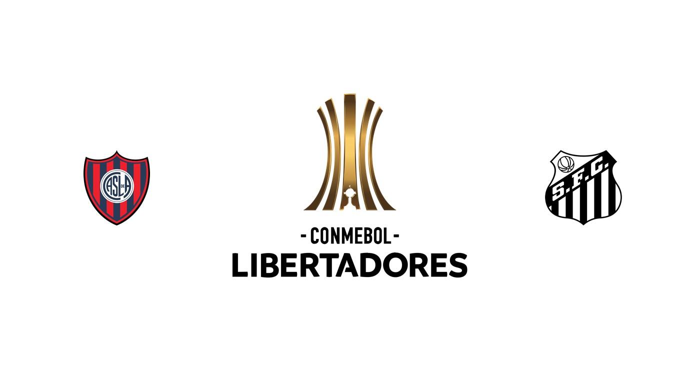 San Lorenzo vs Santos