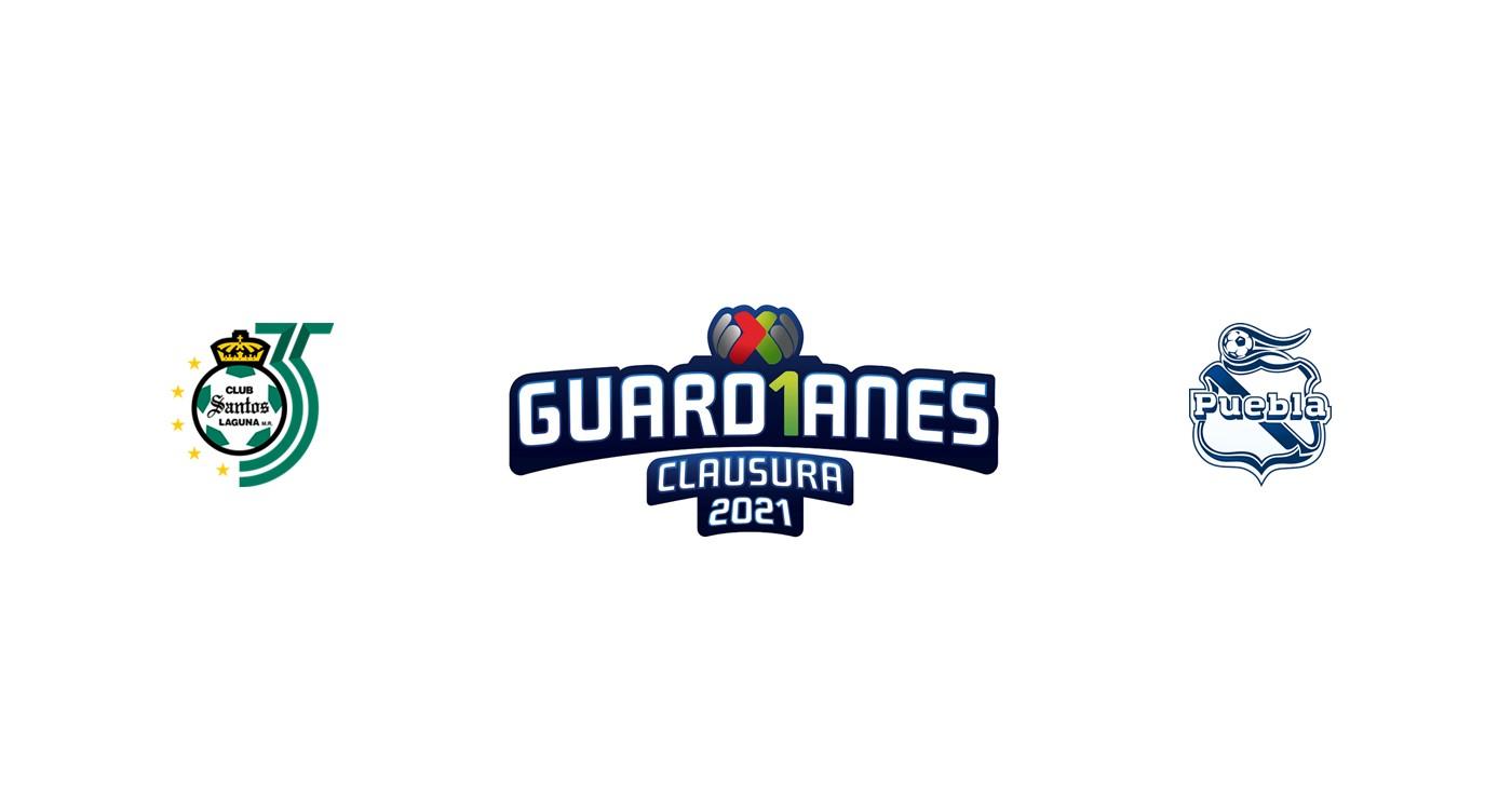 Santos Laguna vs Puebla