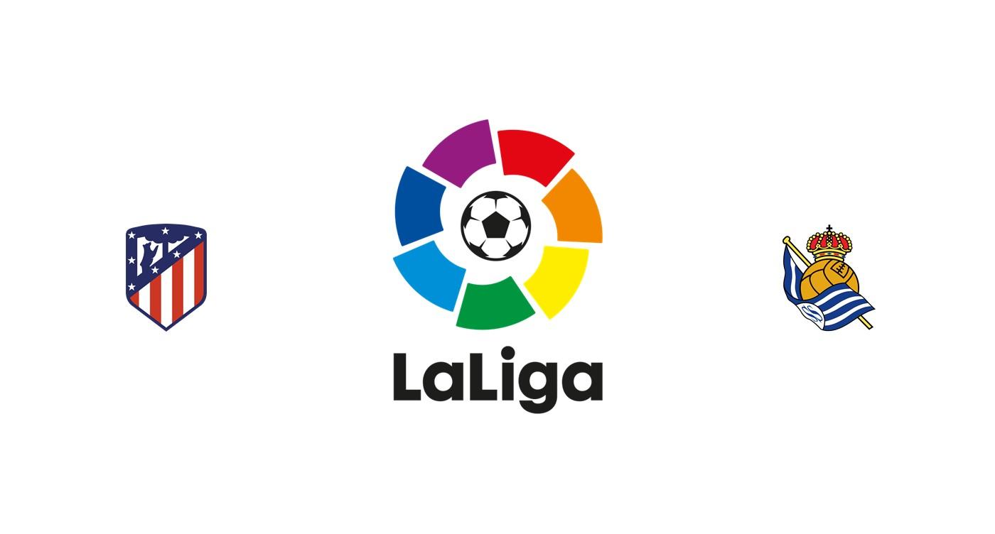 Atlético Madrid vs Real Sociedad