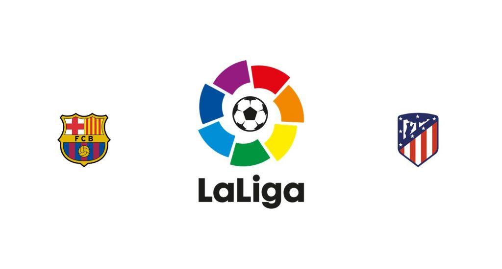 Barcelona vs Atlético Madrid Previa, Predicciones y Pronóstico