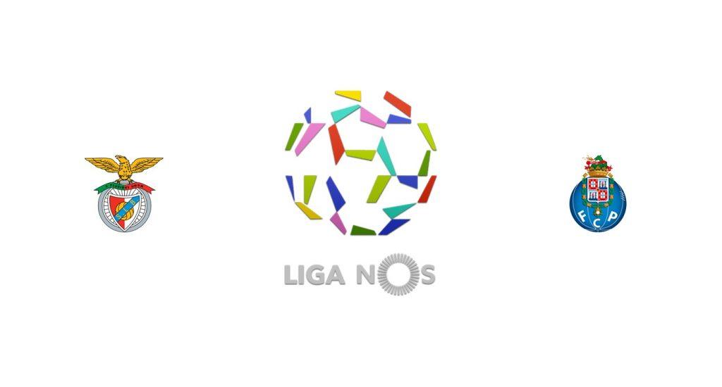 Benfica vs Porto Previa, Predicciones y Pronóstico