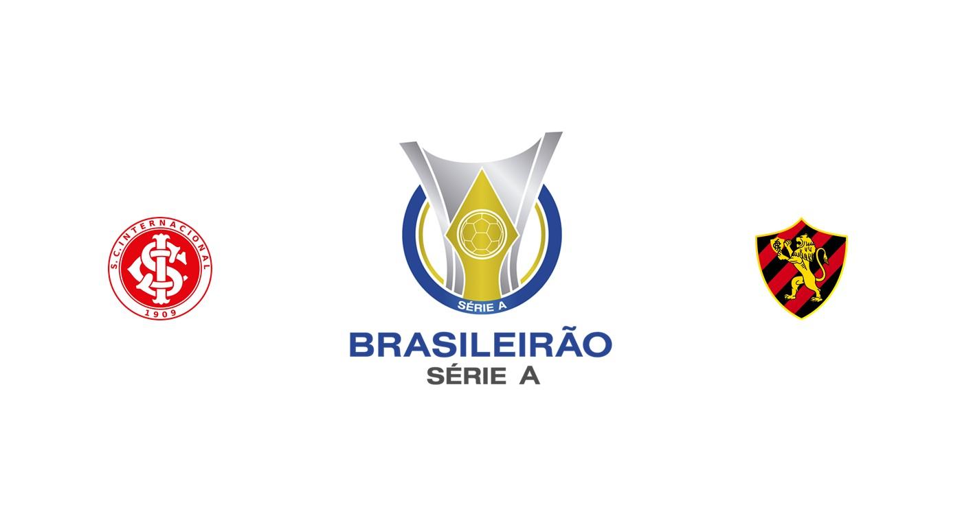 Internacional vs Sport Recife