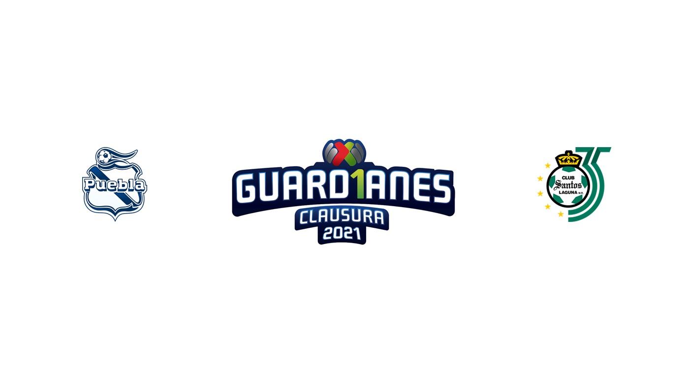 Puebla vs Santos Laguna