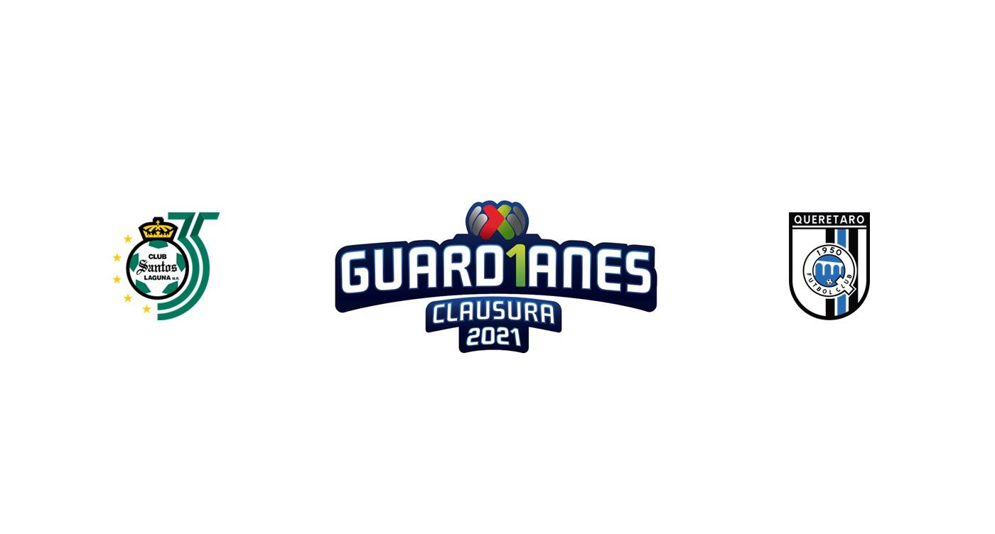 Santos Laguna vs Querétaro