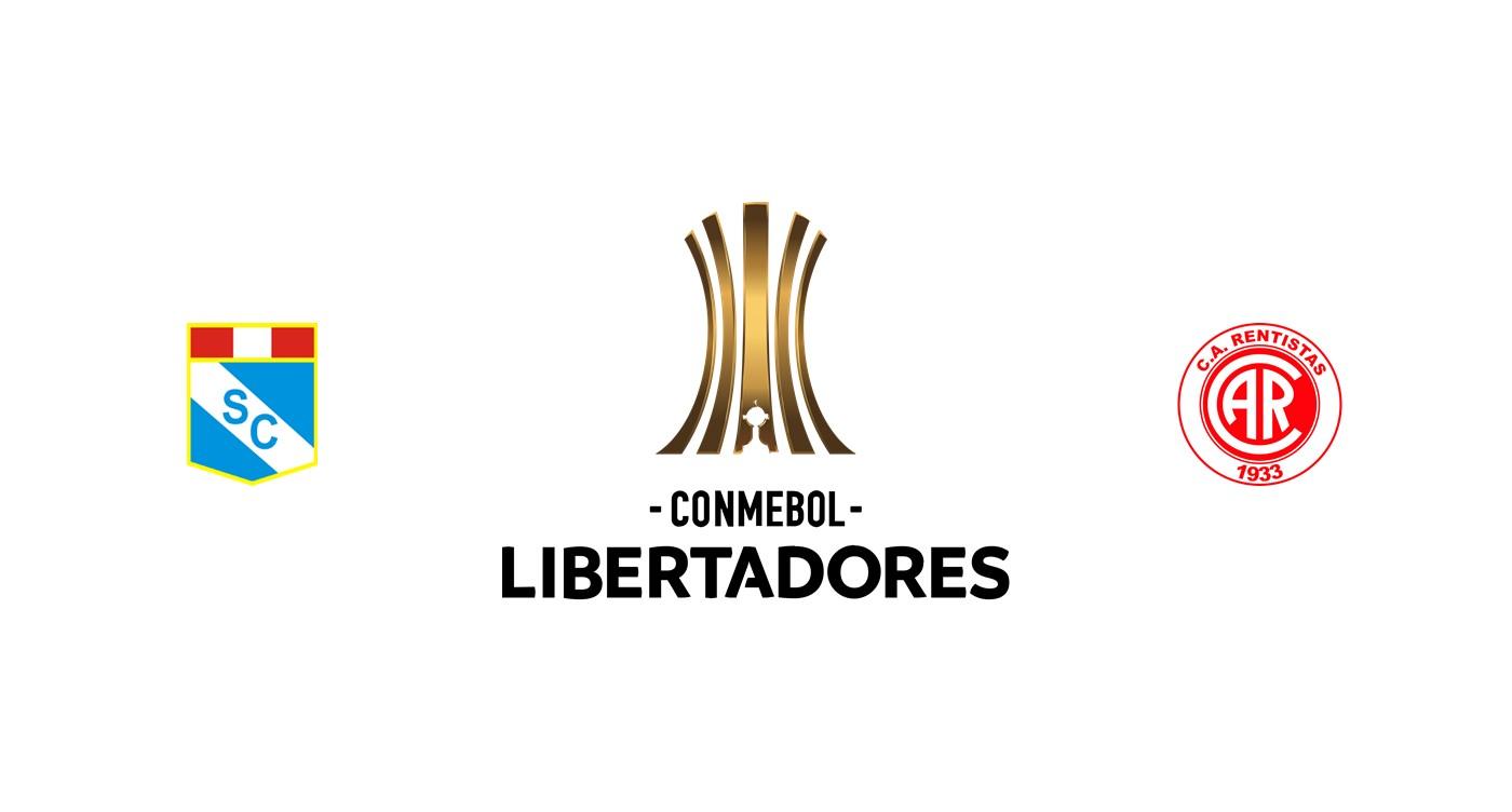 Sporting Cristal vs Rentistas