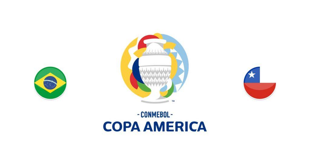 Brasil vs Chile Previa, Predicciones y Pronóstico