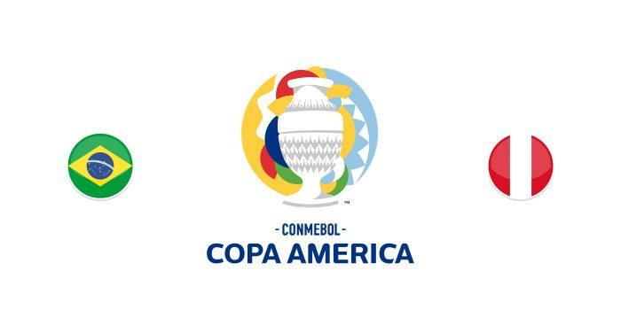 Brasil vs Perú Previa, Predicciones y Pronóstico 18/06/2021
