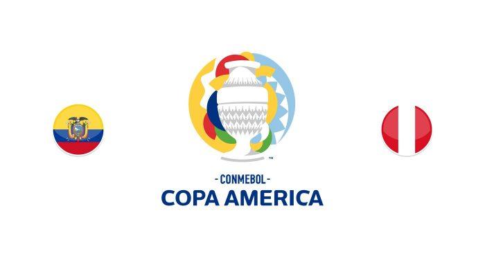 Ecuador vs Perú Previa, Predicciones y Pronóstico