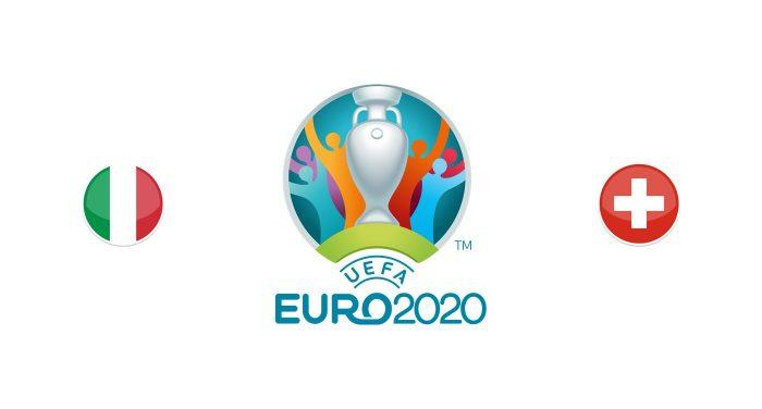 Italia vs Suiza Previa, Predicciones y Pronóstico
