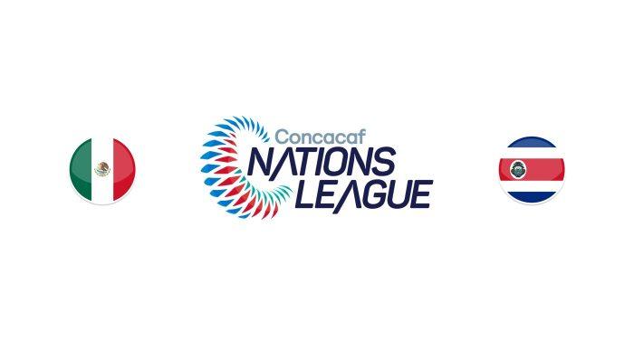 México vs Costa Rica Previa, Predicciones y Pronóstico