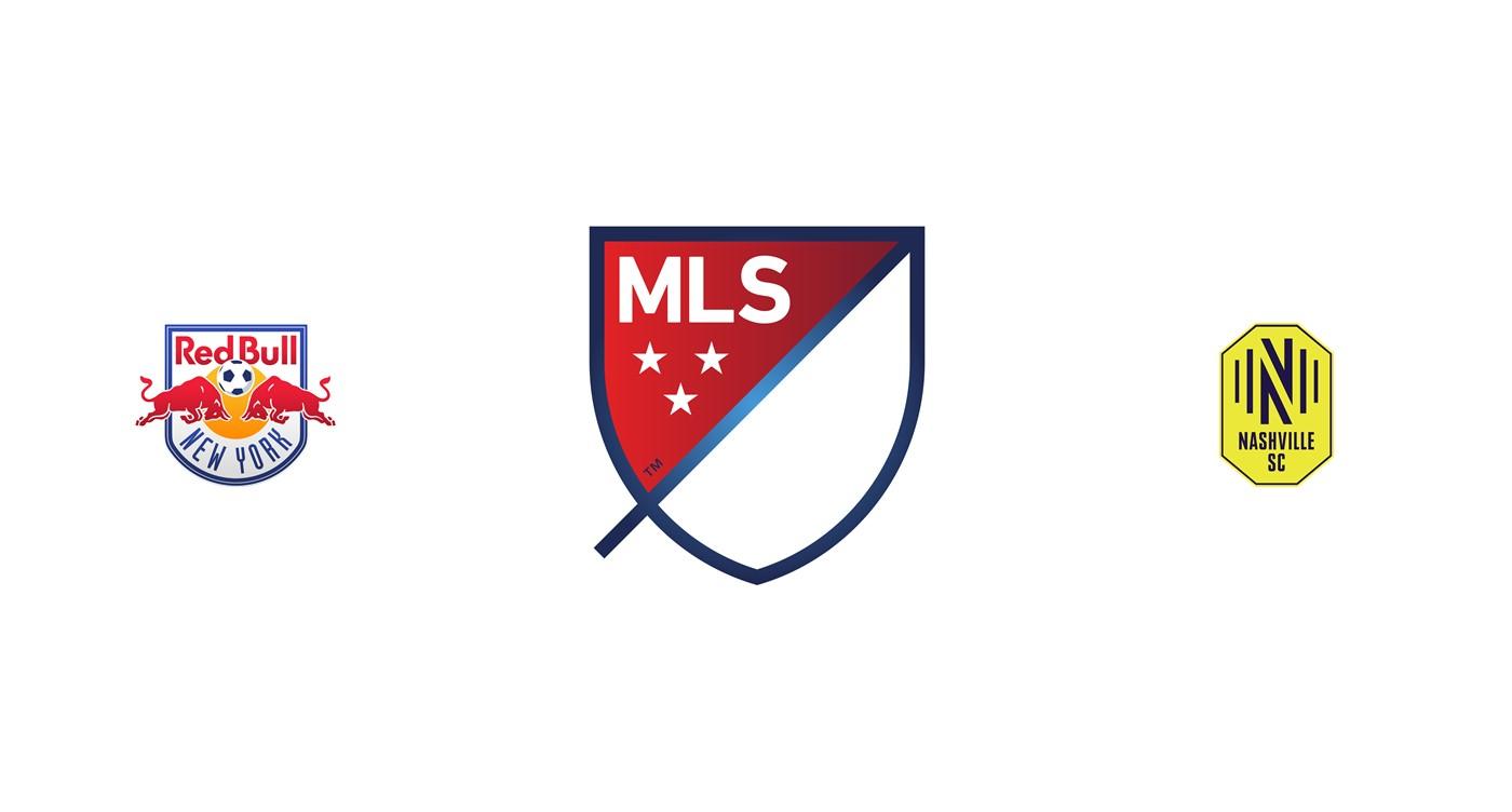 New York Red Bull vs Nashville SC MLS