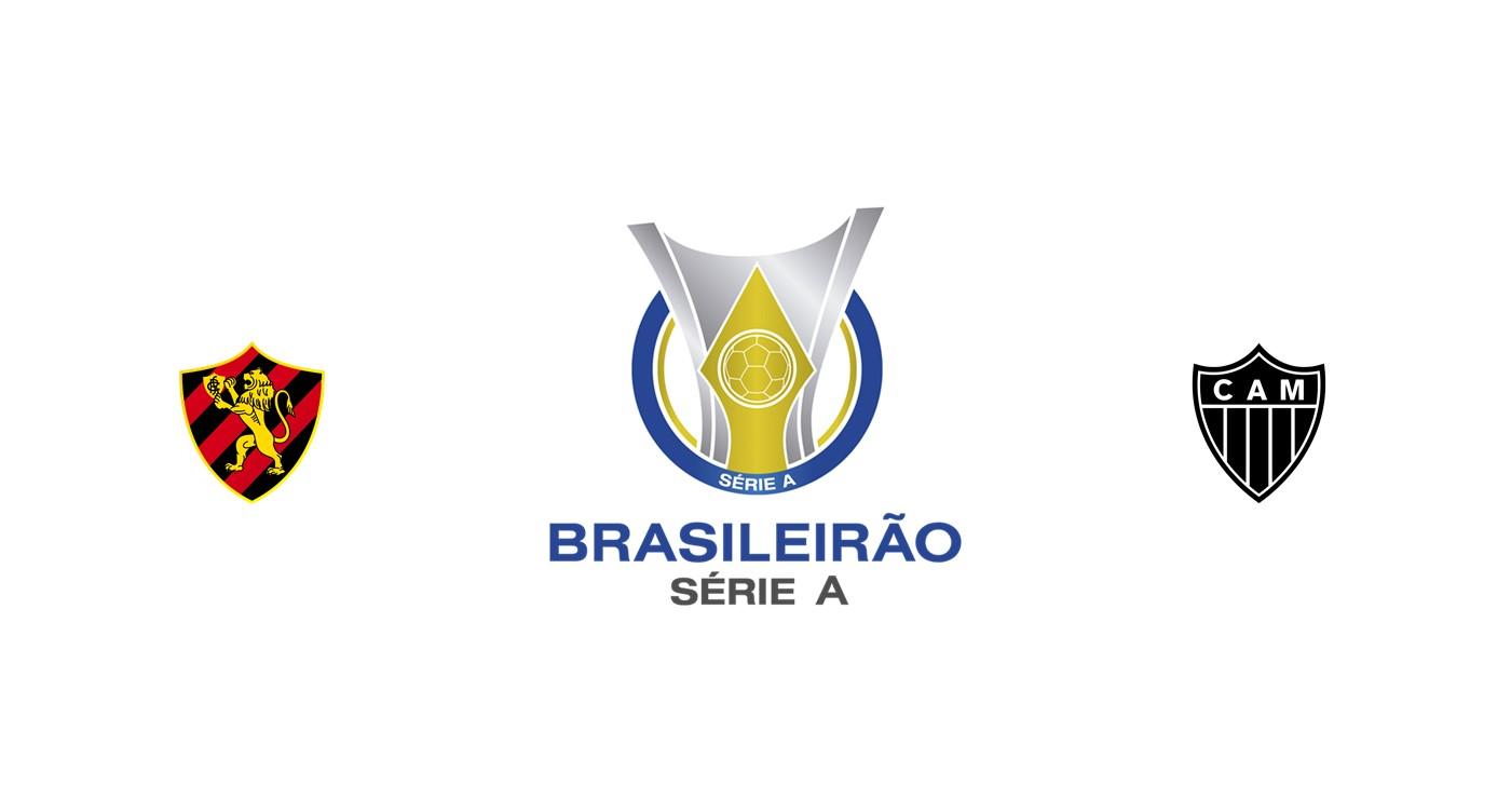 Sport Recife vs Atlético Mineiro