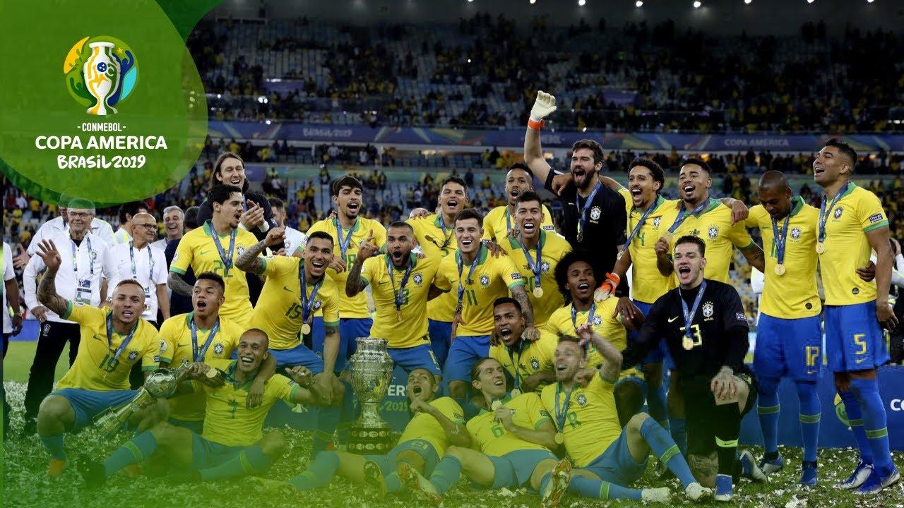 Brasil Copa America 2019 campeon