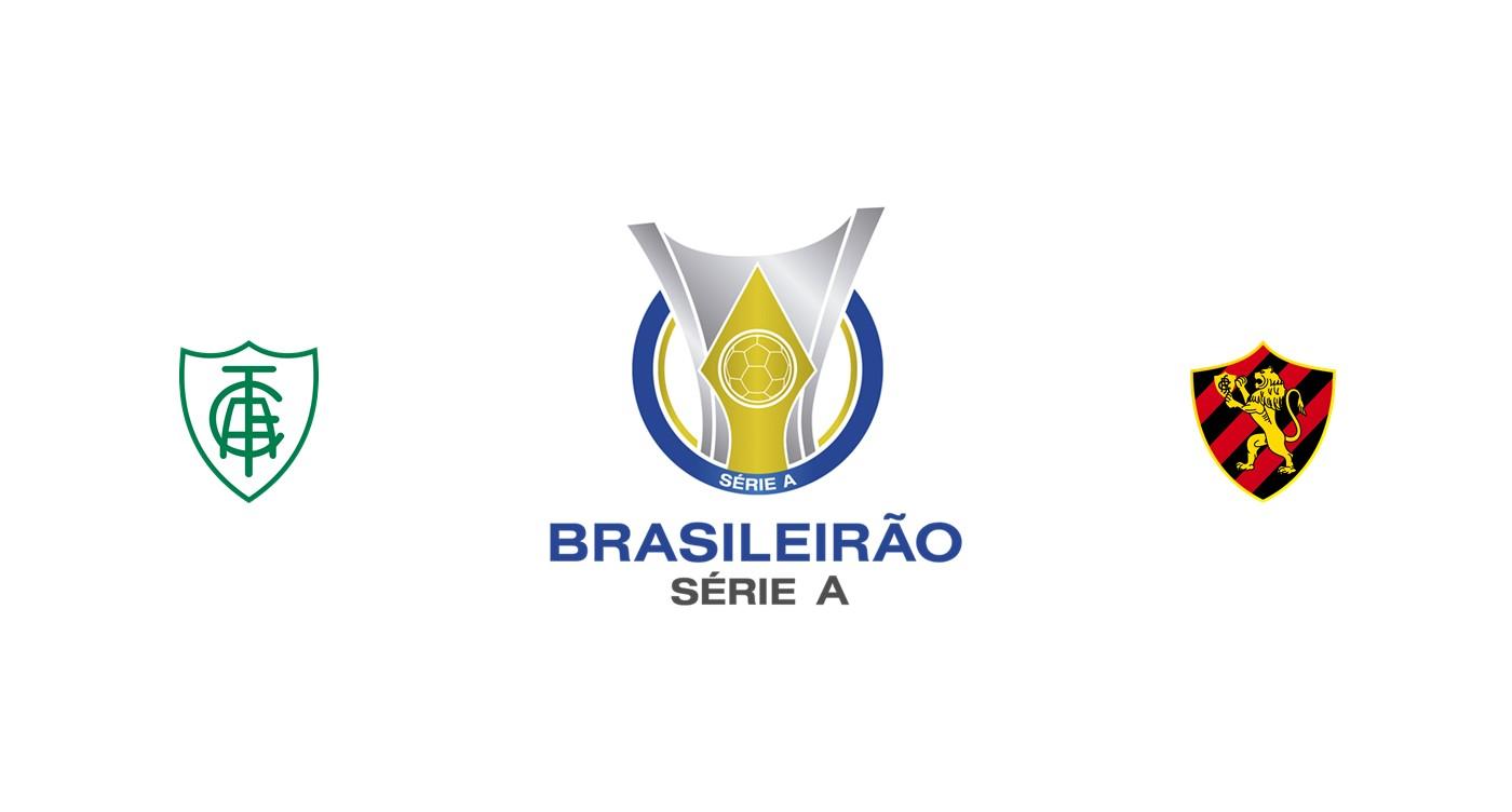 América MG vs Sport Recife